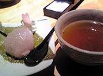 デザートは、桜餅♪